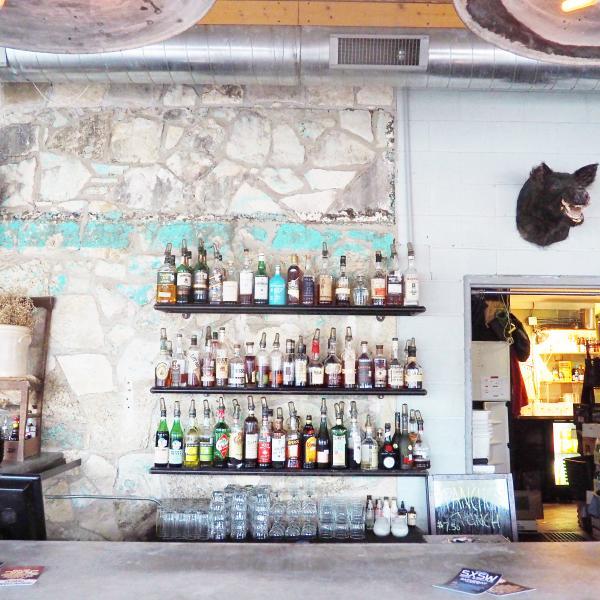 Whislers bar wall