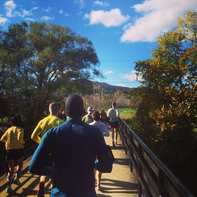 Fall Greenway Run - Fall Photo