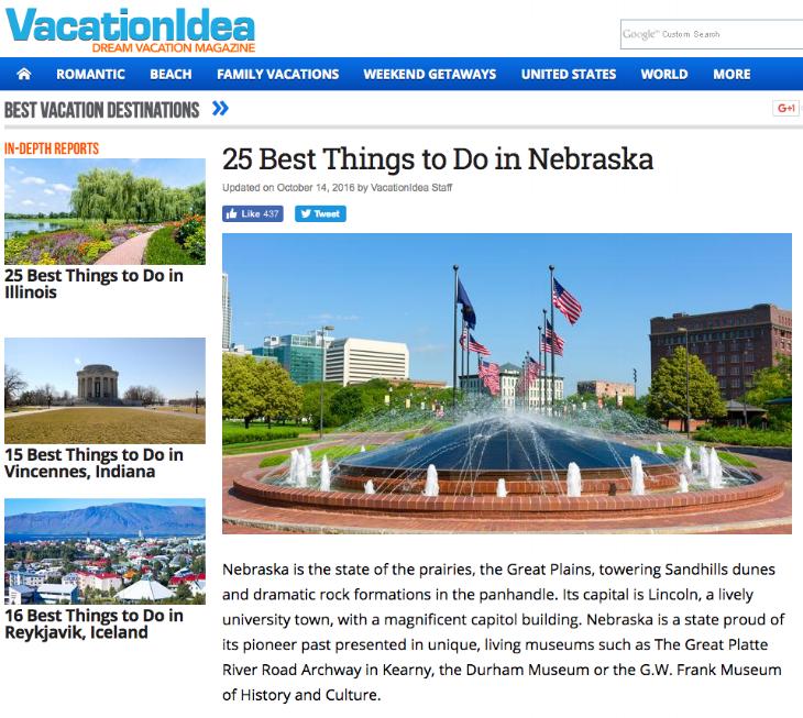 25 Best Things to do in Nebraska