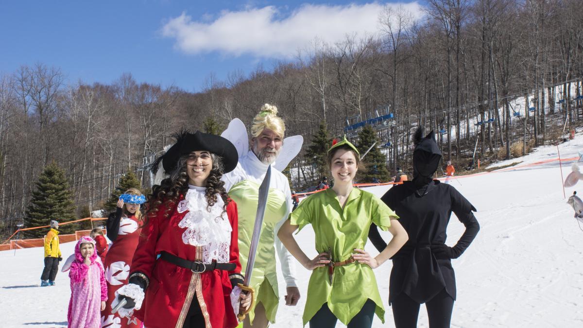 Costume Fun at Shawnee Mountain