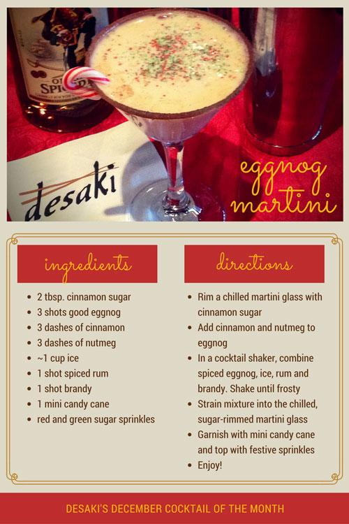 Holiday Drink Recipe from Desaki