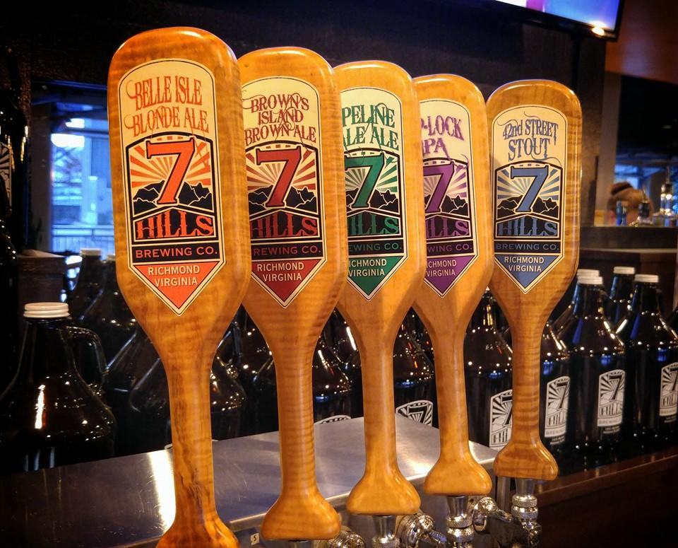 7 Hills craft brewery