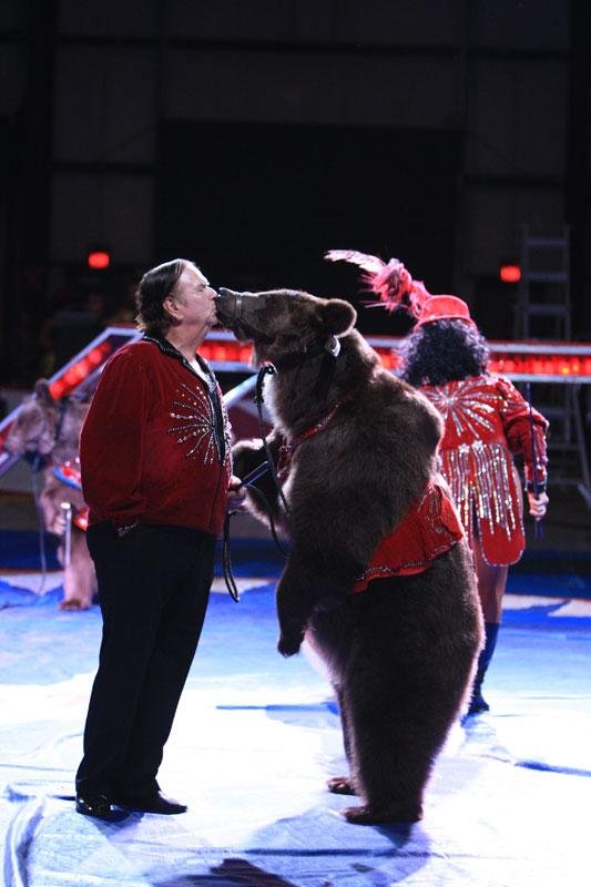 Dancing Bears with Circus United.