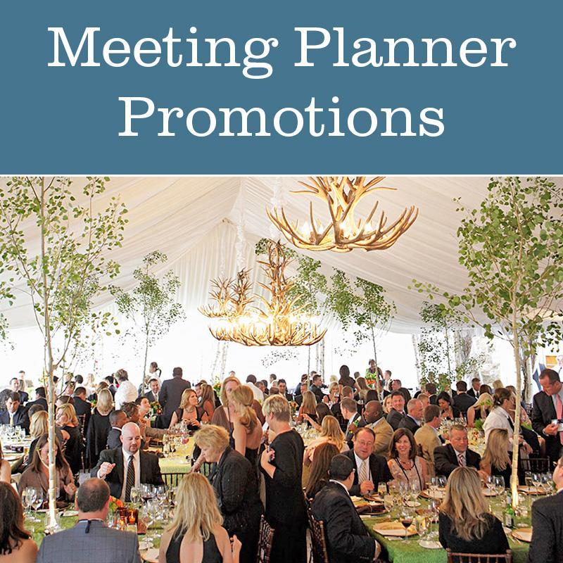 meeting planner promotions