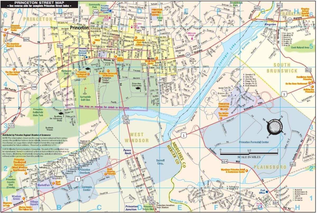 Princeton Town Map