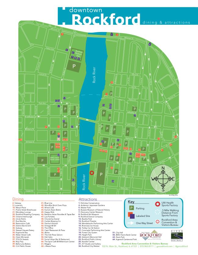 downtown map side 1