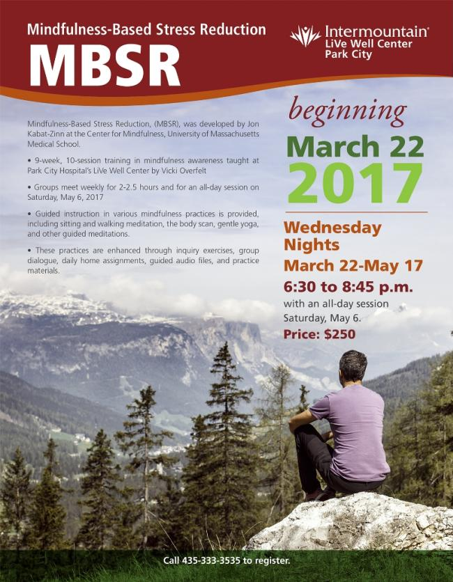 Live Well Event MBSR