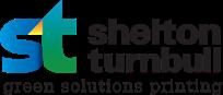 Shelton Turnbull Green Solutions Printing Logo