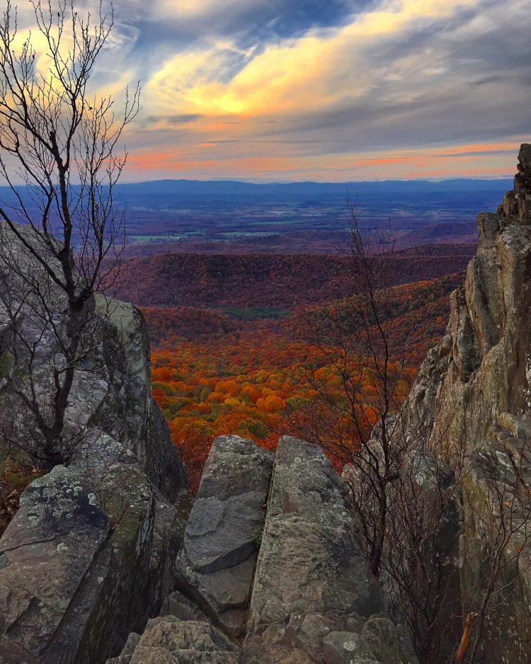 Humpback Rocks - Autumn