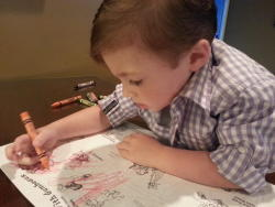 Pick up a coloring book for National Tourism Week in Lake Charles