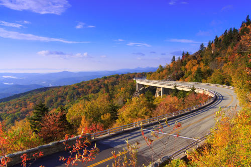 Lin Cove Viaduct on the Blue Ridge Parkway