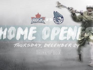 Home Opener: December 29th versus Toronto (7:30 PM)