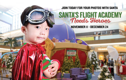 Santa's Flight Academy at International Plaza