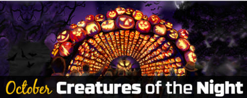 October Creatures of the Night