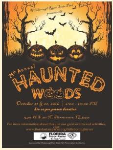 Haunted Woods at Hillsborough River State Park