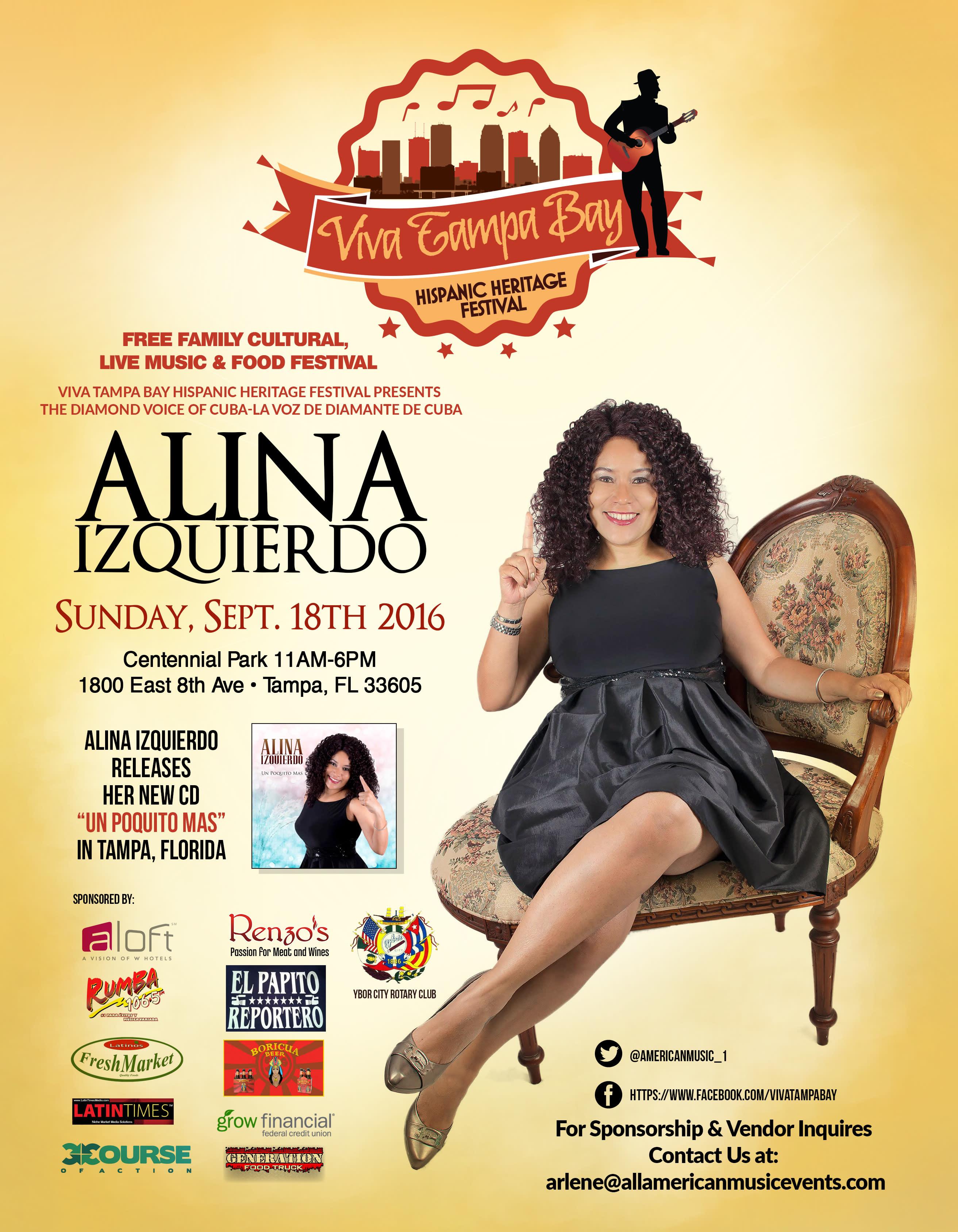 ViVa Tampa Bay Hispanic Heritage Festival 2016