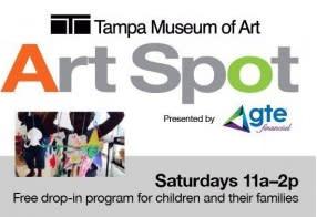 Children's Art Spot at the Tampa Museum of Art