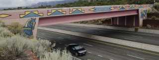Paz Bridge on US 285