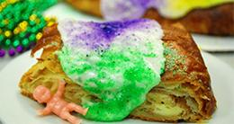 Mardi Gras - King Cake - Seasonal - Fat Tuesday