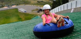 Extreme Tubing at Utah Olympic Park