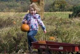 Pumpkin Girl Wagon
