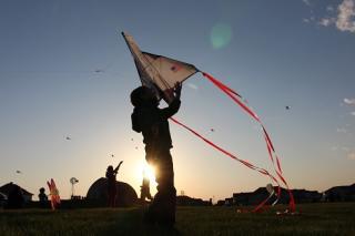 Johnston Kites on the Green