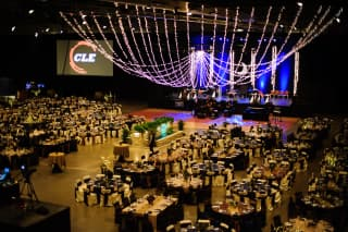 Hy-Vee Hall at the Iowa Events Center Banquet Space