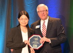 GLCVB 2017 Community Champion Huey-Wen Lin, Ph. D.