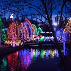 Christmas Candylane at Hersheypark PA