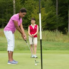 Girlfriends' Golf Time