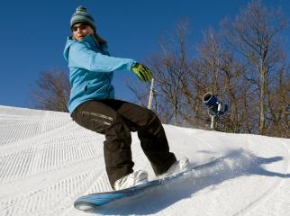Roundtop Mountain Resort Snowboarding