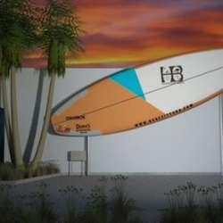 International Surfing Rendering