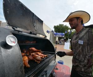 Barbecue at Grapefest