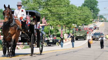 MEMORIAL DAY - TRAPPE - PARADE