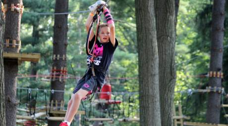 Elmwood Park Zoo - Treetop Adventures