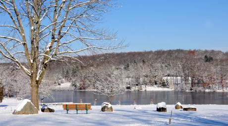 Outdoor Winter Activities - Ice Fishing