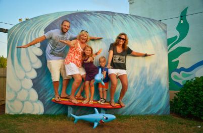 Carolina Beach Family