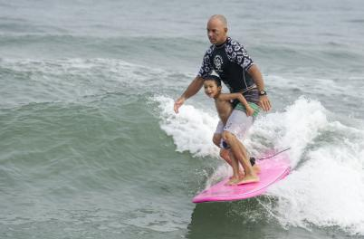 Indo Jax Youth Surfing Lesson