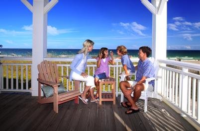 Family vacation on Wrightsville Beach