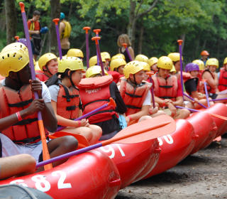 White Water Rafting Ohiopyle Group