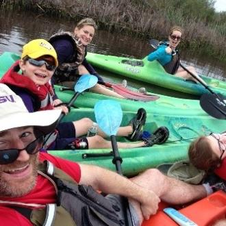 Bayou Adventure Kayaking Fun Family
