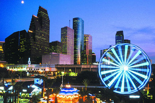 Houston Trip Ideas and Itineraries – Houston Tourist Attractions Map
