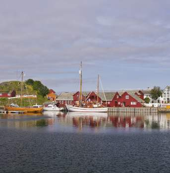 Håholmen outside the Atlantic Road