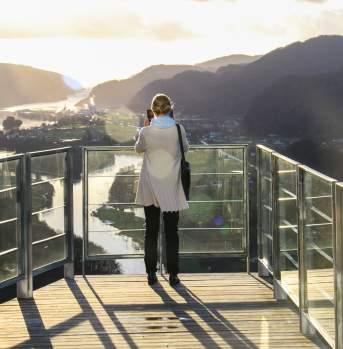 View from The Bølgen & Moi Hotel Utsikten
