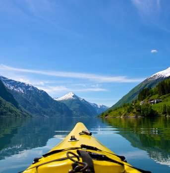 Kayak Nærøyfjord
