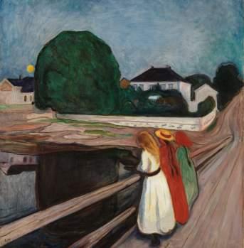 Munch pikene på broen