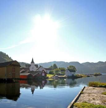 Feda Church Kvinesdal southern Norway