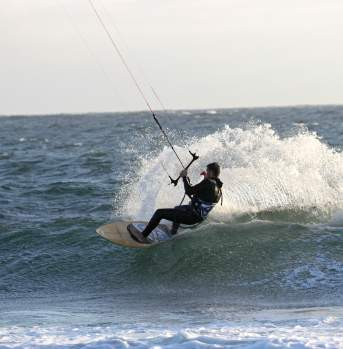 Kite surfing Lista Norway