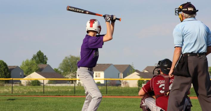 Baseball Shot in Brownsburg