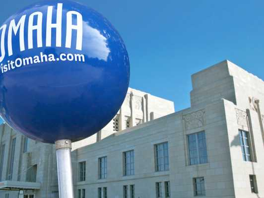 Omaha Attractions Museums Omaha Zoo and Historic Sites – Omaha Tourist Attractions Map